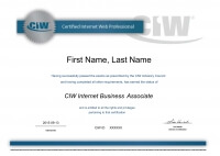 Certified Internet Web and Mobile Design Professionals(CIW)