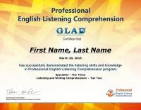 Professional English Listening Comprehension(PELC)